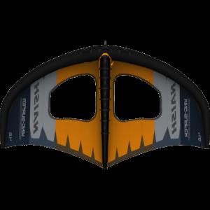 Naish Wing Surfer Foil Wing 4,6m bottom orange grey blue