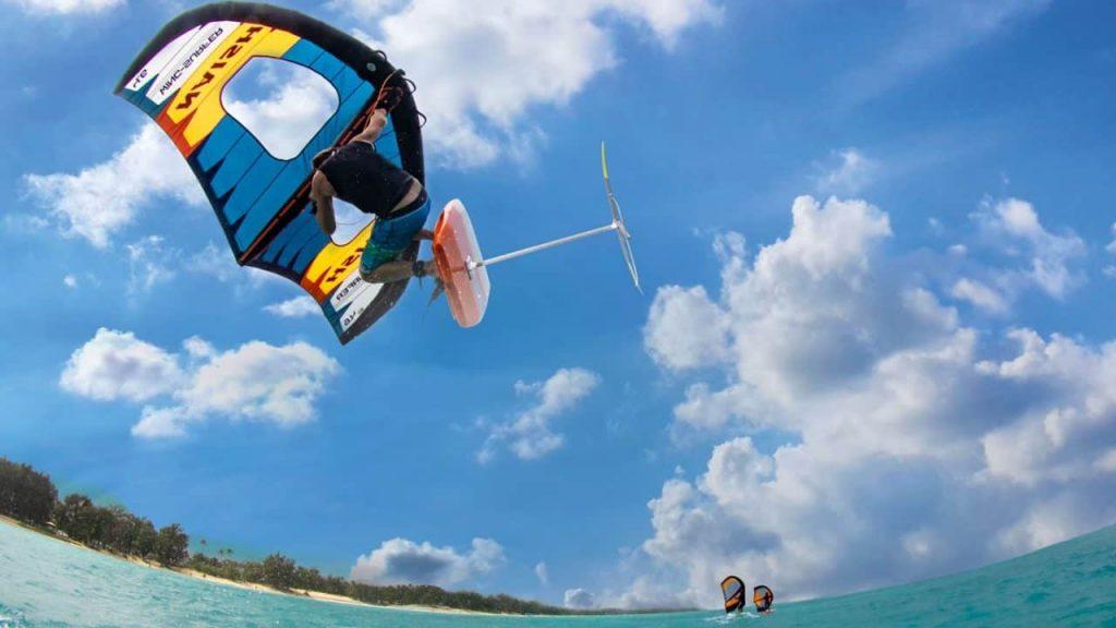 Nash wing surfer foil wing action