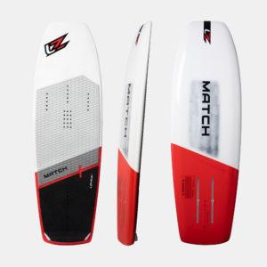 levitaz match2 freeride foil board kiteboard strapless